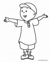 Caillou Coloring Pages Printable Cool2bkids Printables sketch template