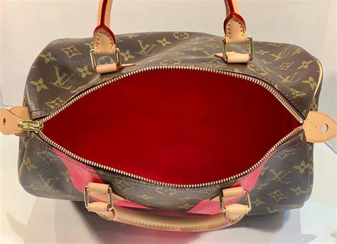 iconic louis vuitton speedy  handbag limited edition grenade  monogram canvas  sale  stdibs