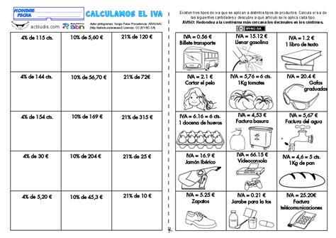 Documents similar to ejercicios matematicos. Calculamos el IVA - Actiludis