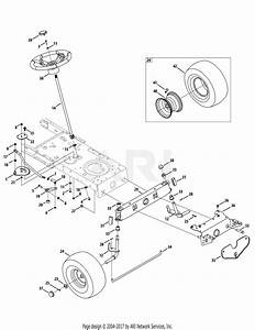 Mtd 13ac76lf031  2010  Parts Diagram For Front End Steering