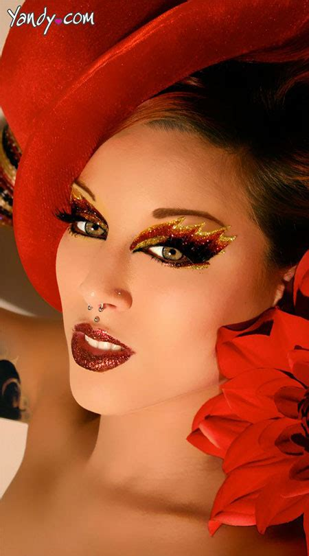 unique  scary halloween devil face makeup ideas   girlshue
