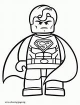 Lego Coloring Pages Man Colouring Printable Print Ninjago Sheets Templates Movie Batman Superman Superhero Printing Boys Printables sketch template
