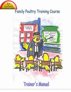 A Manual Of Poultry Farming Training
