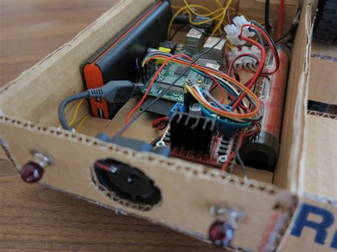 raspberry pi wifi radio controlled rc vehicle cooling with passive heat sinks raspberry pi