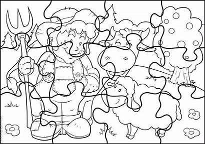 Rompecabezas Puzzle Colorear Imprimir Coloring Jigsaw Palapeli