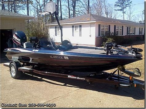 Bass Boats For Sale In Gadsden Al by 21 000 2006 Triton Tr 196 Le Gadsden Al