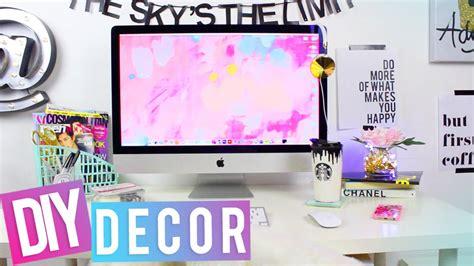desk  diy desk decor youtube