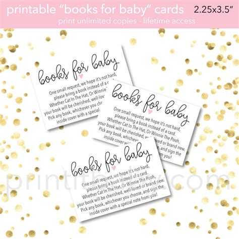 bring  book    card baby shower invitation