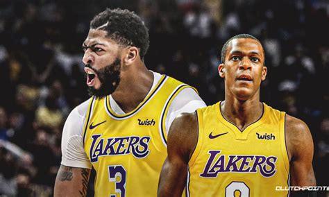 Lakers news: Rajon Rondo not surprised by Anthony Davis ...