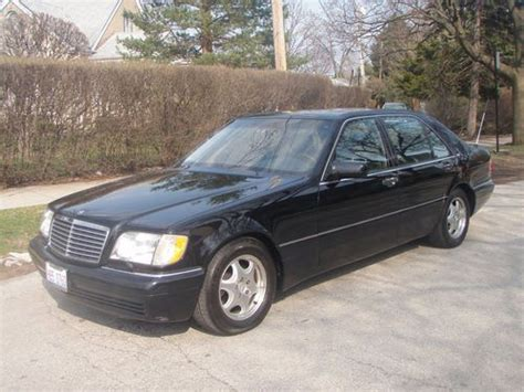 Purchase Used 1997 Mercedes Benz S600 S Class V12 Roadster