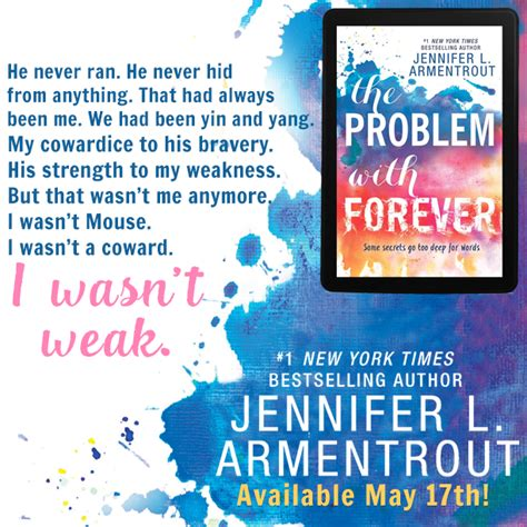 the problem with forever by armentrout promo and giveaway live to read