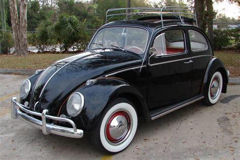 black volkswagen bug black 1963 volkswagen beetle aucton results 16 000