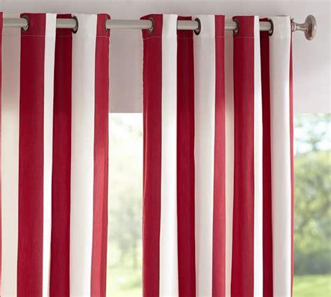 pottery barn sunbrella outdoor curtains sunbrella 174 indoor outdoor grommet drape pottery barn