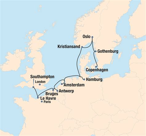regal routes  northern europe  ohio state