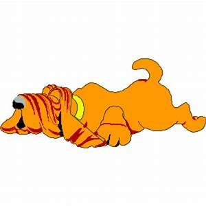 Dog Sleeping clipart, cliparts of Dog Sleeping free ...