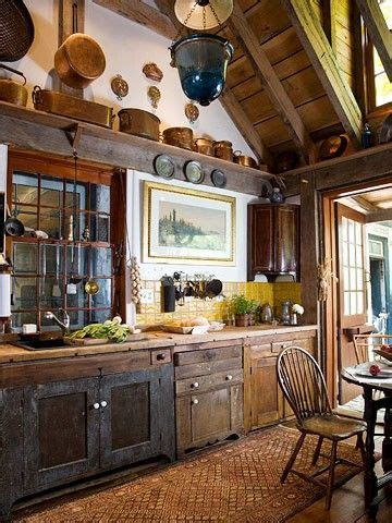 Antique Stylekitchens Old Style Rustic Design Kitchen