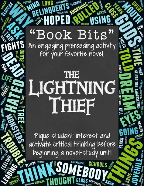 The Lightning Thief Book To Read The Lightning Thief