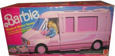 """Barbie MOTORHOME """"Magical"""" TRAVELING MOTOR HOME Van w"""
