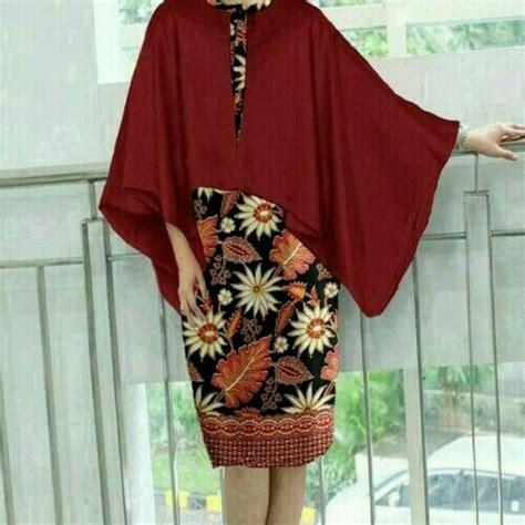 baju olshop baju batik batwing untuk pesta dan kondangan