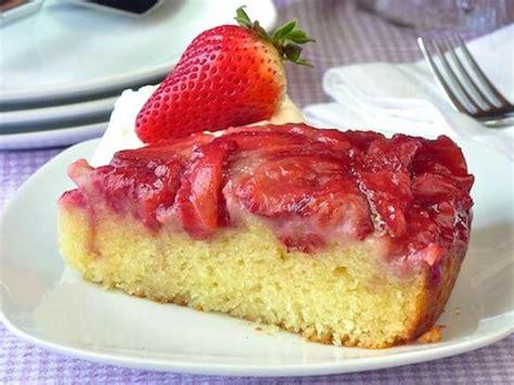 jeux de aux fraises cuisine gateaux recettes de gâteau renversé