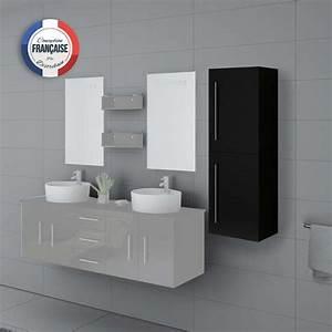 Colonne Rangement Salle De Bain : colonne de rangement salle de bain noire suspendre col747n ~ Premium-room.com Idées de Décoration
