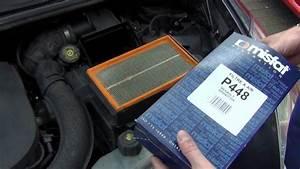 Comment Changer Un Filtre  U00e0 Air Sur Renault Clio 3 Dci