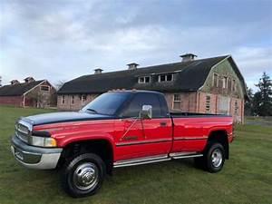 1994 Dodge Ram 3500 Laramie 5 9 Cummins Manual 4x4 96k  Mi