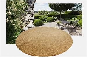 tapis coco rond idees de decoration interieure french With tapis rond coco