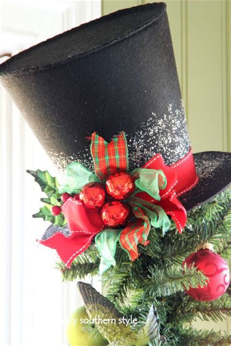 top hat tree topper merry christmas pinterest sun
