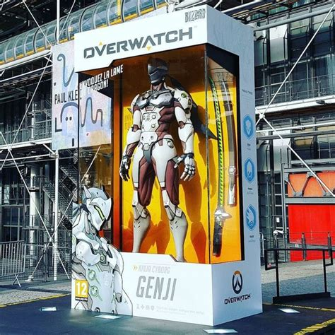 Larger Than Life Overwatch Action Figures Pop Across