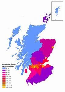 Population Density Of Scotland