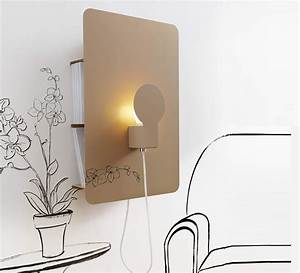 Applique Murale Tableau : applique murale sketch beige tableau pense b te h62cm ~ Edinachiropracticcenter.com Idées de Décoration