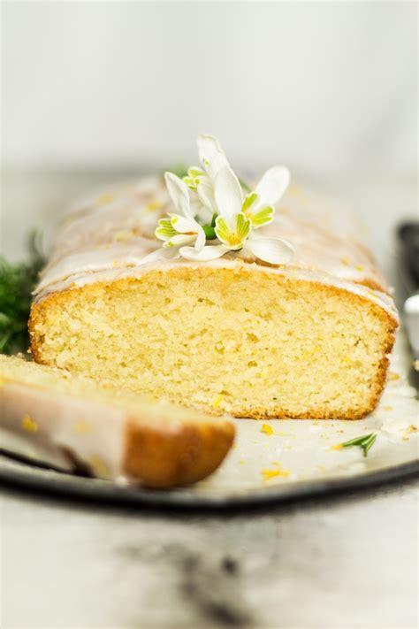 vegan gluten  lemon drizzle cake
