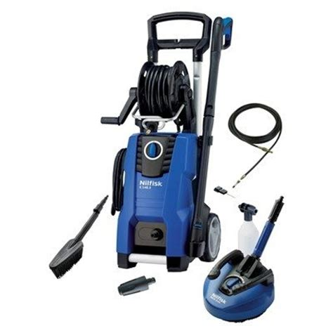 nilfisk e140 3 9 s x tra pressure washer with home car bundle nilfisk domestic pressure