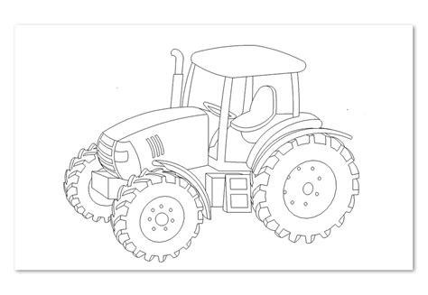 Einfacher traktor ausmalbild gratis ausdrucken ausmalen. Ausmalbilder Landmaschinen - Aausmalbilder.club