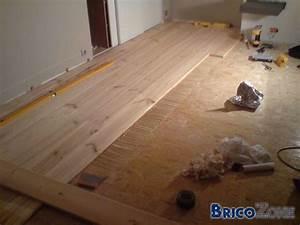 plancher en pin massif le bois chez vous With parquet pin massif pas cher