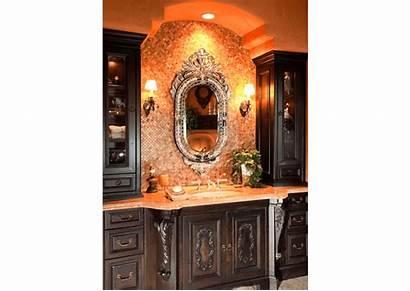 Bathroom Tuscan Master Villa