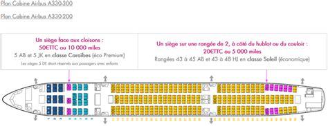 plan siege air air caraïbes réservation en ligne de billet choix du siège
