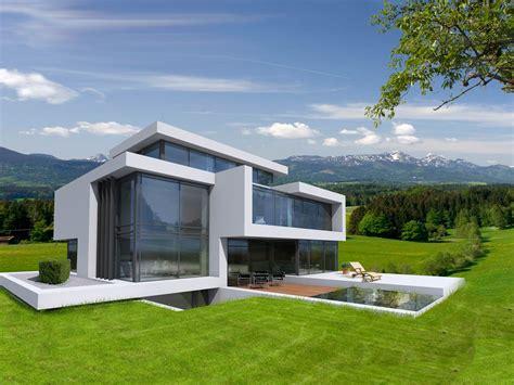 Moderne Puristische Häuser exklusive waldgrundst 252 cke zwischen berlin und potsdam