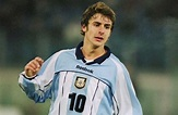 Pablo Aimar with Argentina vs. Netherlands, Chile match ...