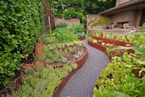 kitchen garden design ideas дизайн проект огорода частного дома в деревне советы фото 4905