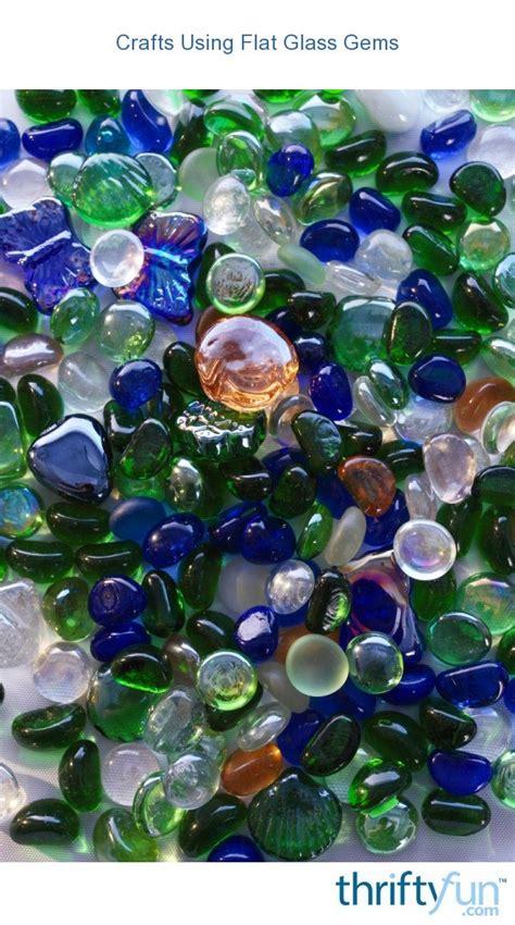 crafts  flat glass gems thriftyfun