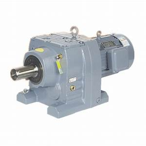 China R47 Helical Gear Reductor Belt Conveyor Drives Speed