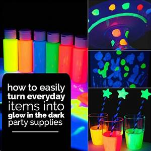 20 Glow in the Dark Party Ideas Spaceships and Laser Beams