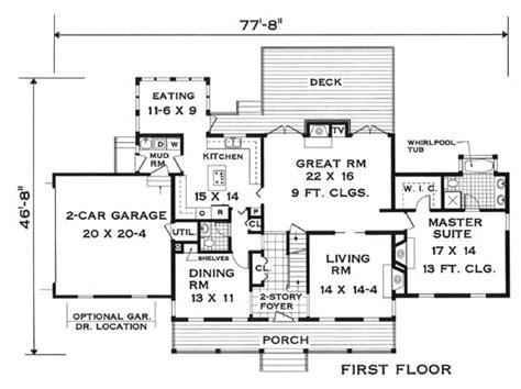 Innovative Floor Plan 5624  5 Bedrooms And 3 Baths The