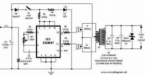 Soft Wiring  Inverter 12v 220v 1000w Schematic