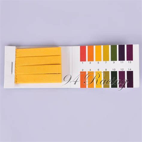 80pc Ph114 Litmus Test Paper Strips Urine Saliva Tester