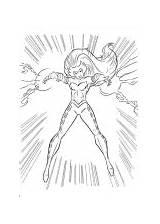 Coloring Thor Enchantress sketch template