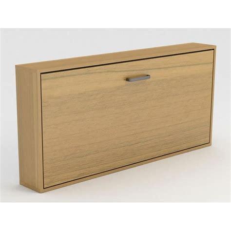 armoire lit escamotable stone 1 place 90x200 chene achat