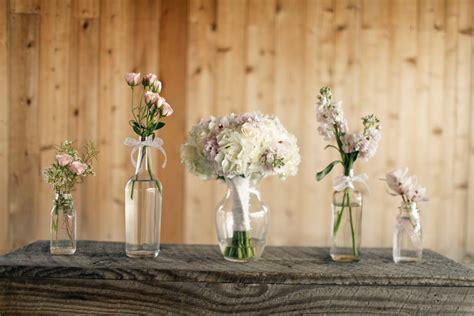 Rustic Wedding Stadium Flowers
